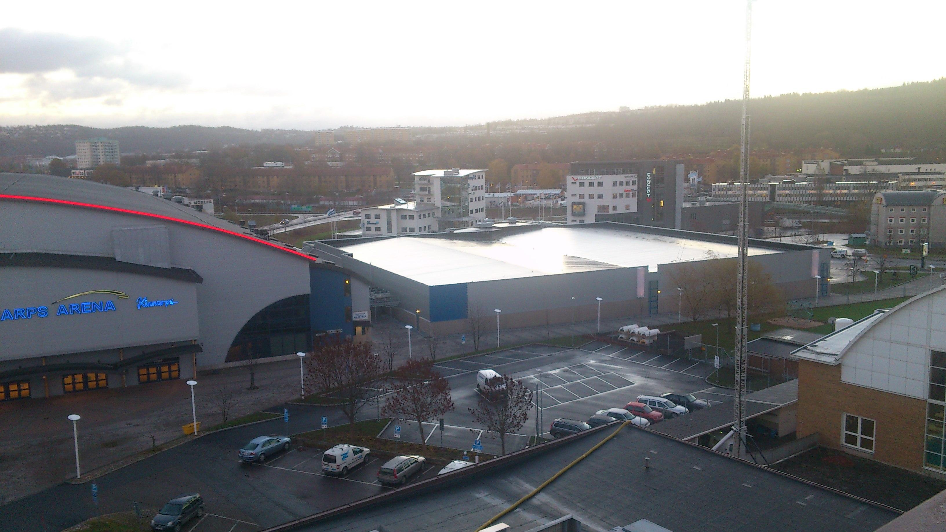 Kinnarps Arena Klart Takringen Jonkoping Varnamo